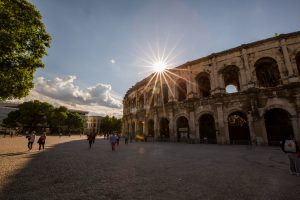 arena, Nimes, travel